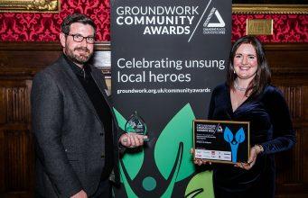 Bridgman & Bridgman win the Best Community Partnership with Business award