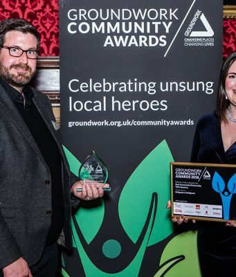 Bridgman & Bridgman win the Best Community Partnership with Business award