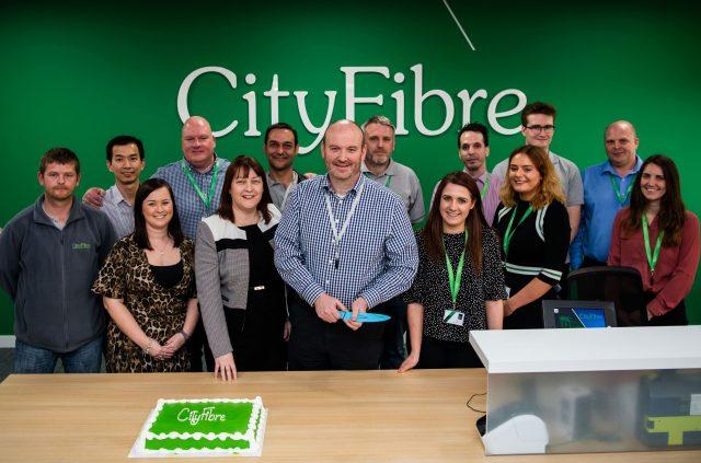 CityFibre celebrates anniversary