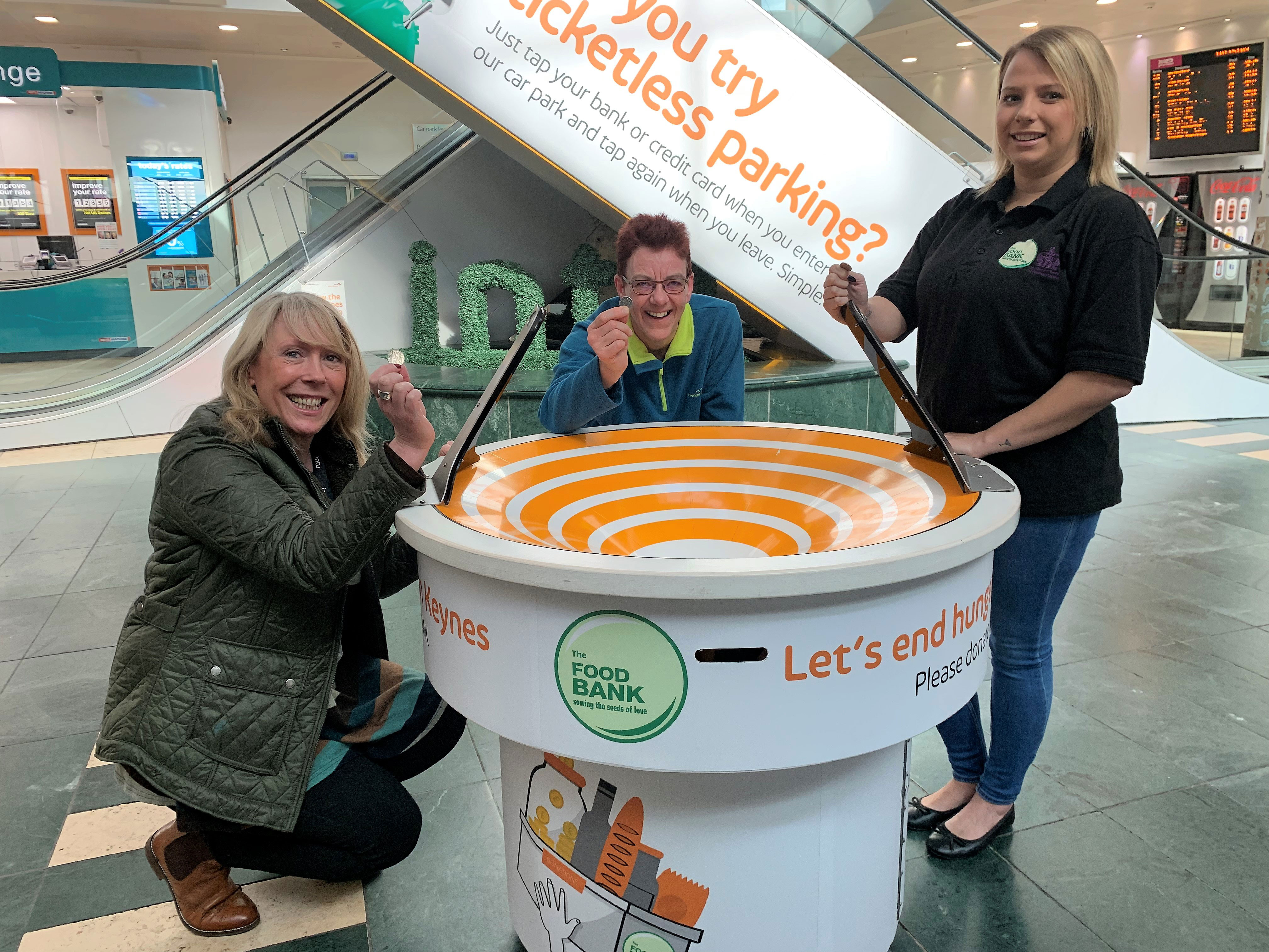 into partners with MK Food Bank
