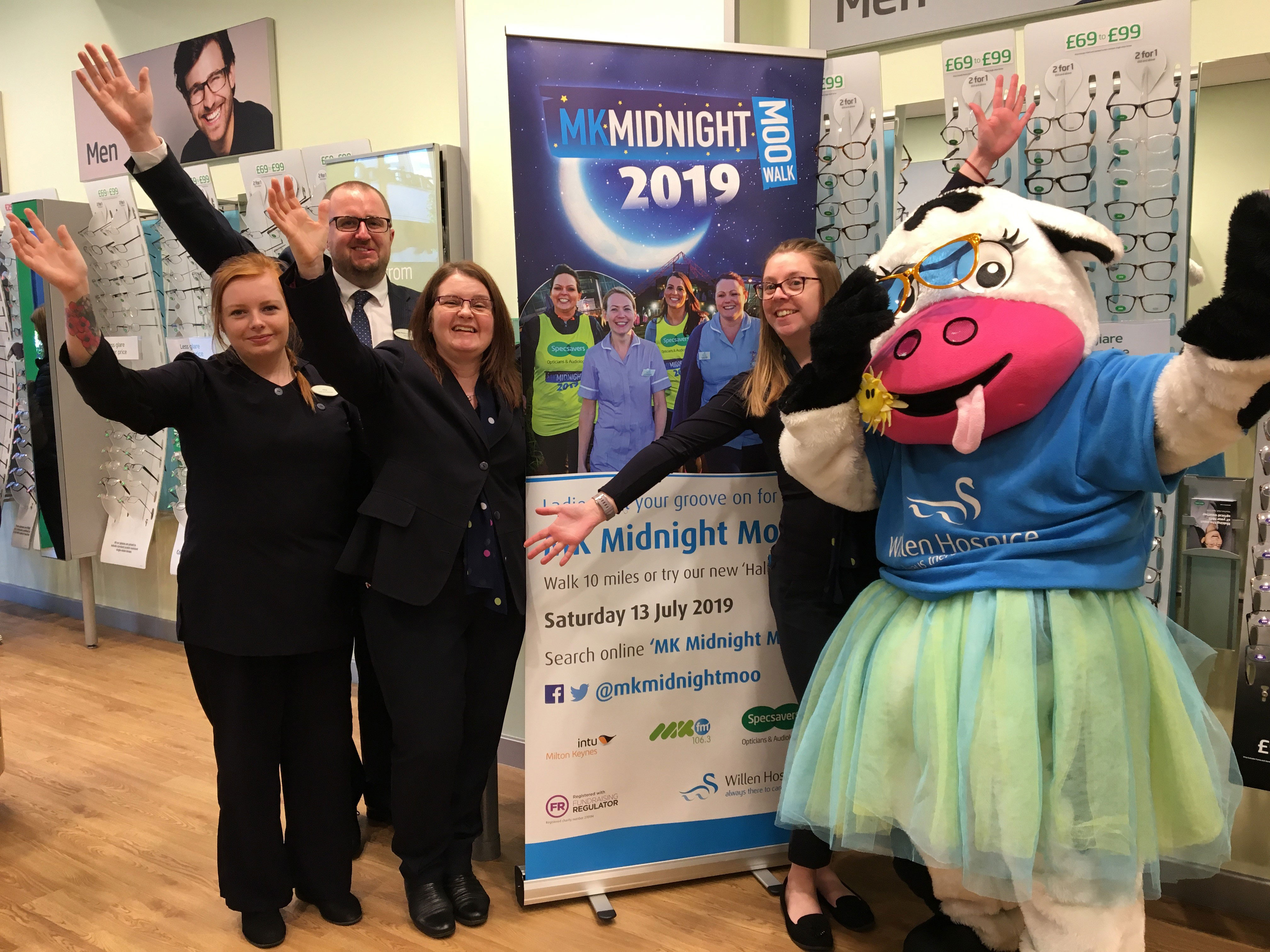 Specsavers and Midnight Moo