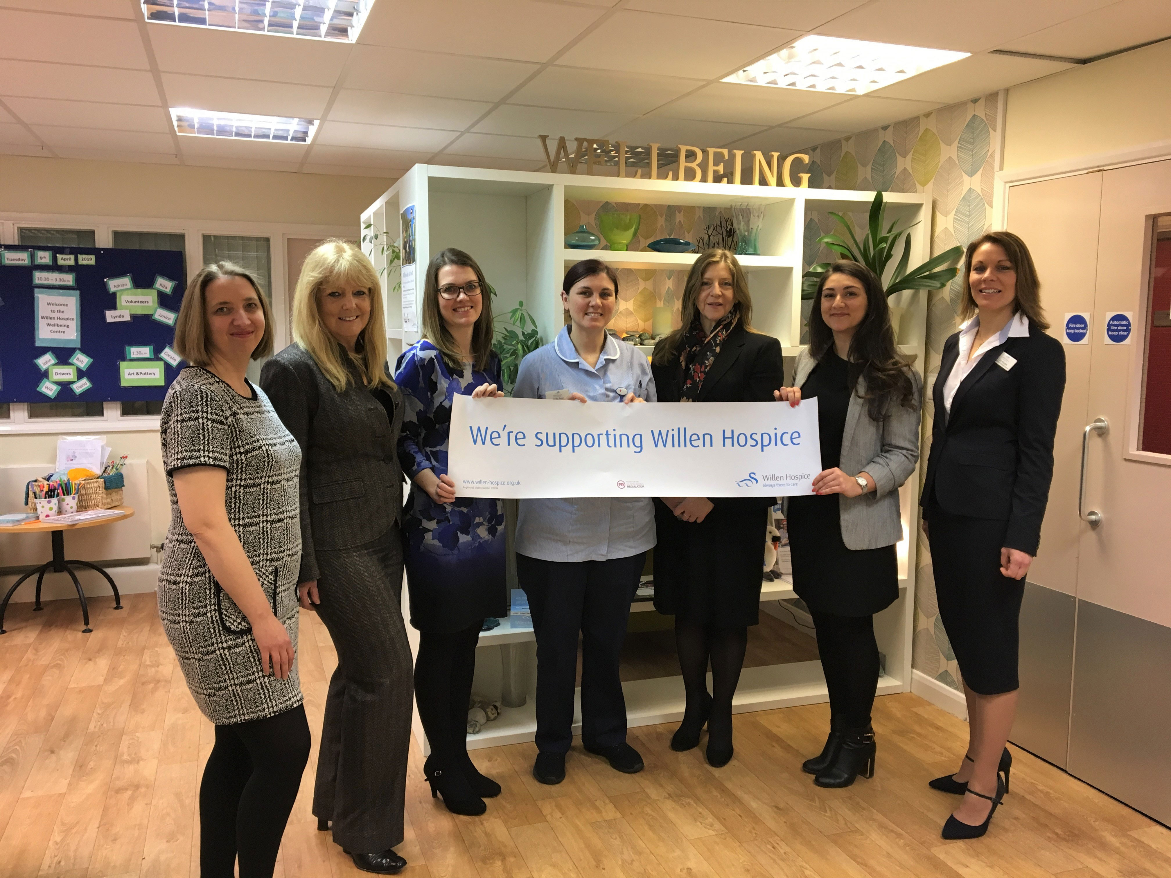 Make a Will month at Willen Hospice