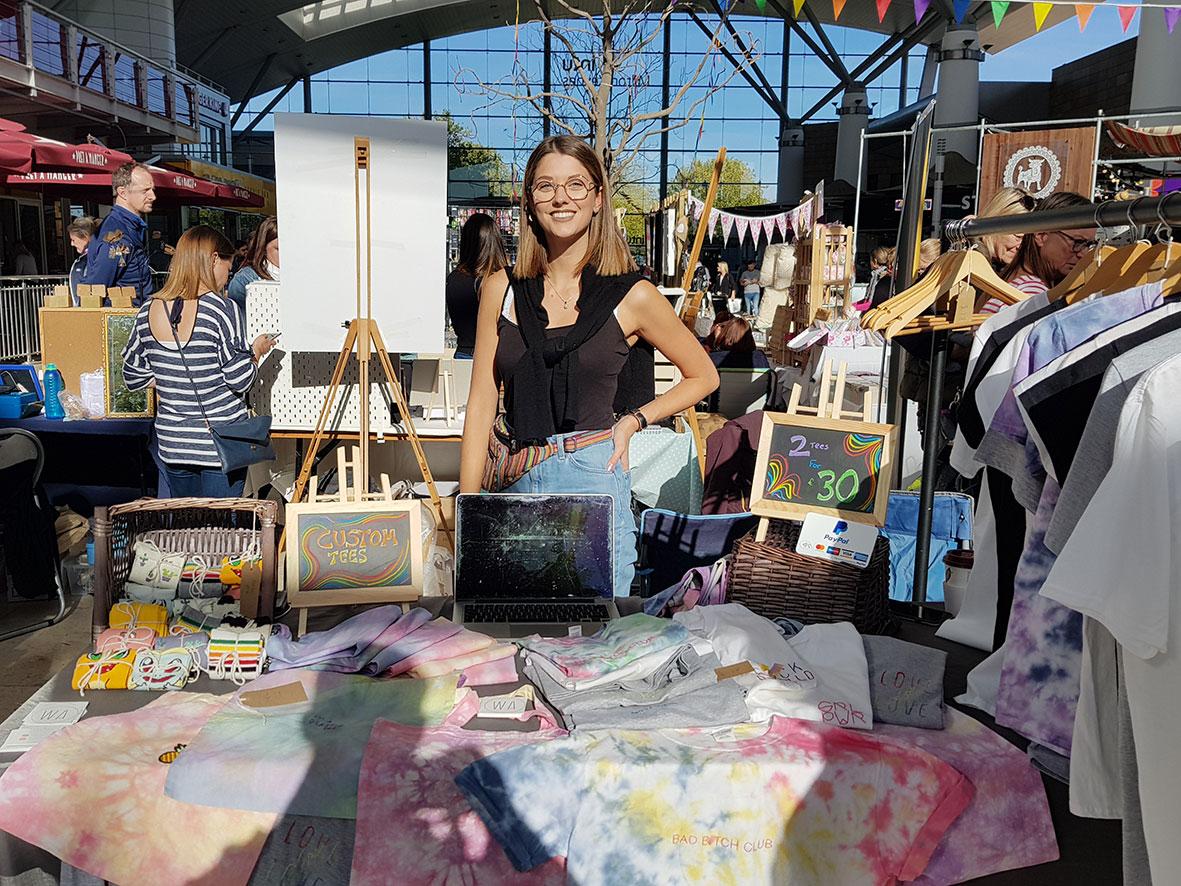 Artisan Market at into Milton Keynes