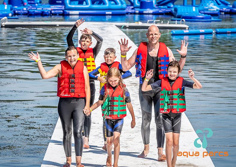 Family fun at Aqua Parcs