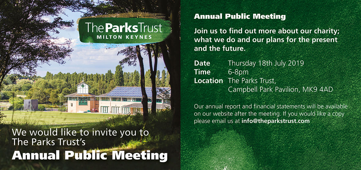 The Parks Trust's Annual Public Meeting