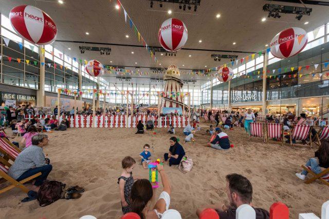 UK's largest free indoor beach