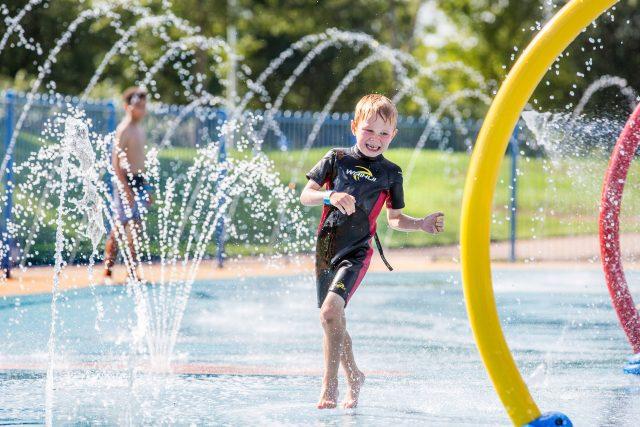 Enjoying Splash 'n' Play