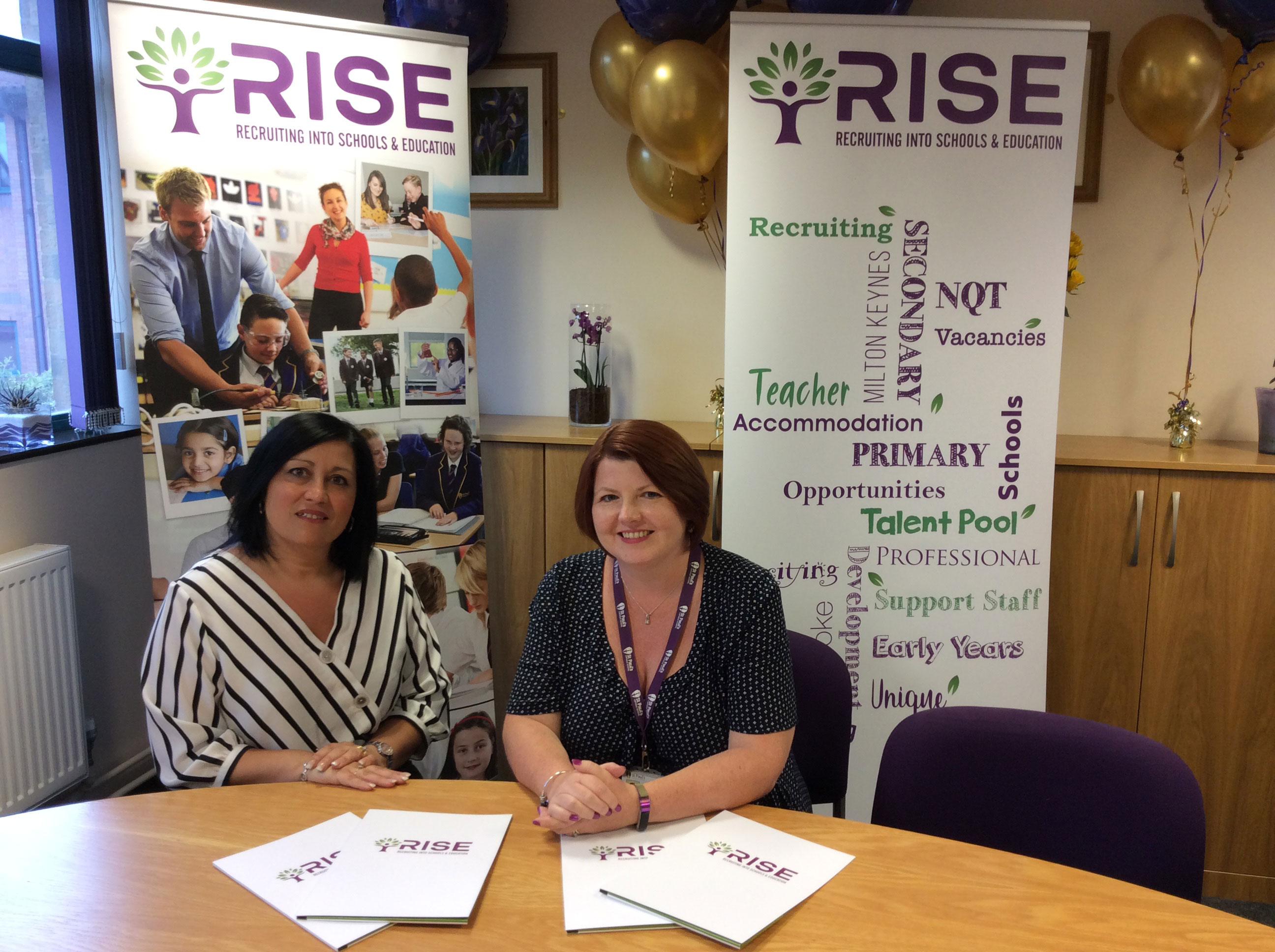 Maddy Oliveri and Jo-Anne Hoarty launch RISE