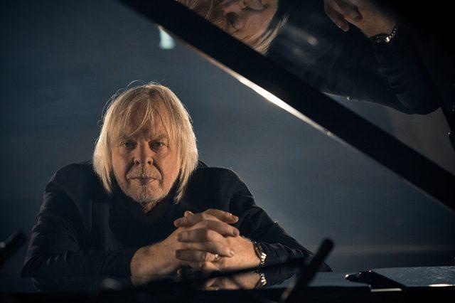 Rick Wakeman at a piano