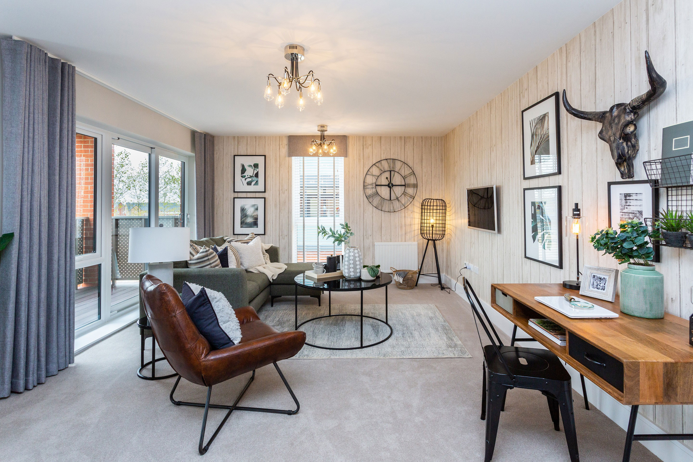 Showhome at The Square at Brooklands