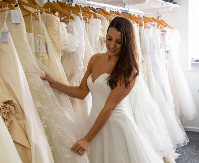 Willen Hospice opens bridal shop