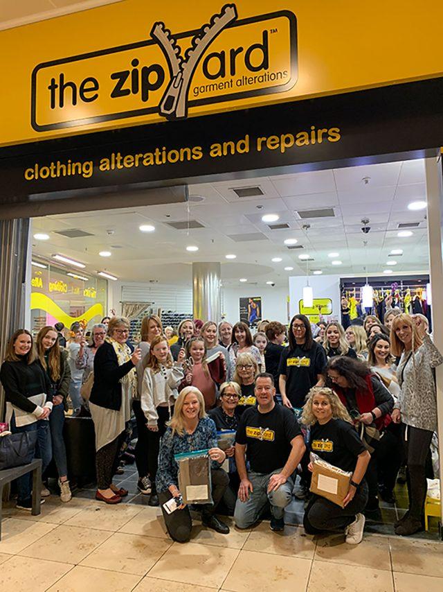 Zip Yard Milton Keynes make joey pouches for Australia