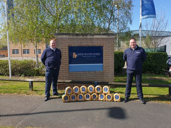 Barratt Developments Plc donates defibrillators