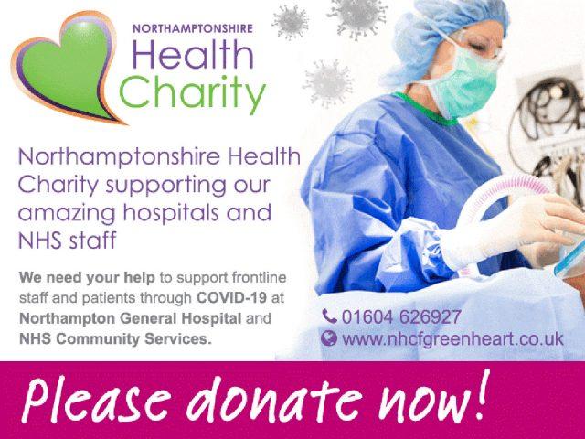 Northampton health Charity COVID 19 appeal