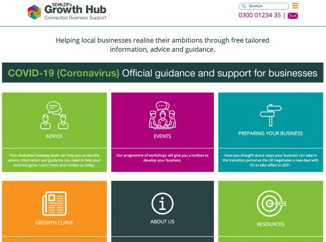 Business support in Northamptonshire