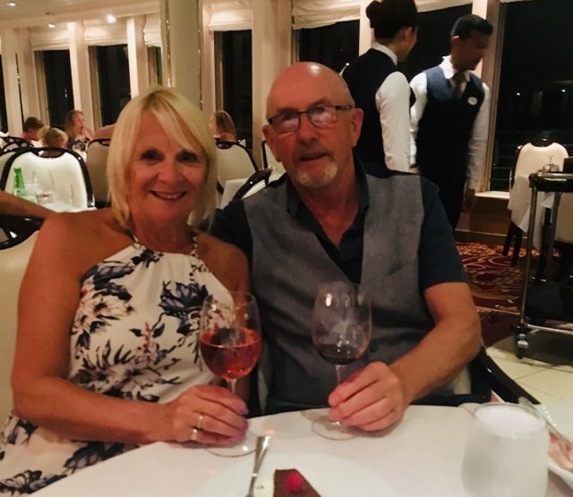 Christine and John Leggett