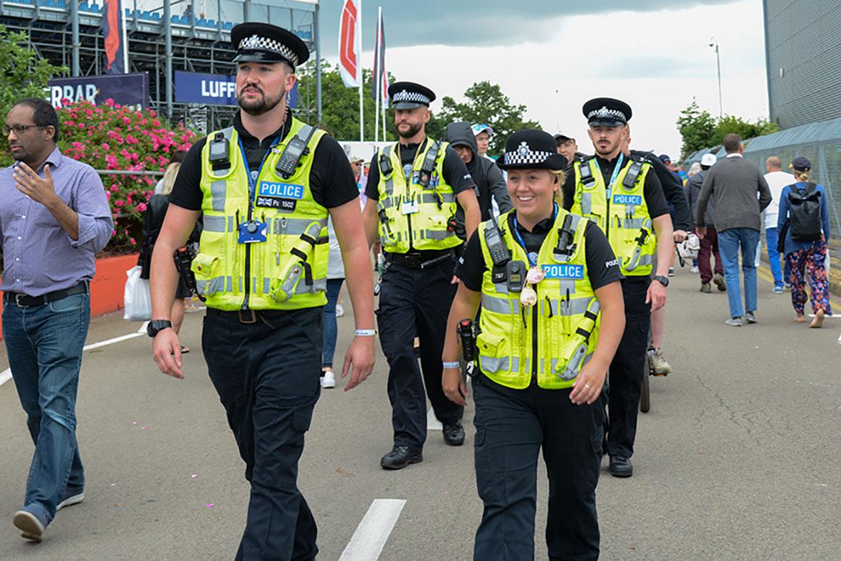Northamptonshire Police on the street