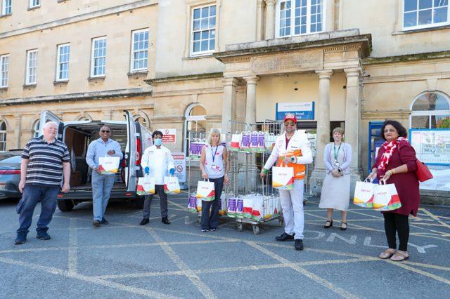 Saffron deliver free food to NGH