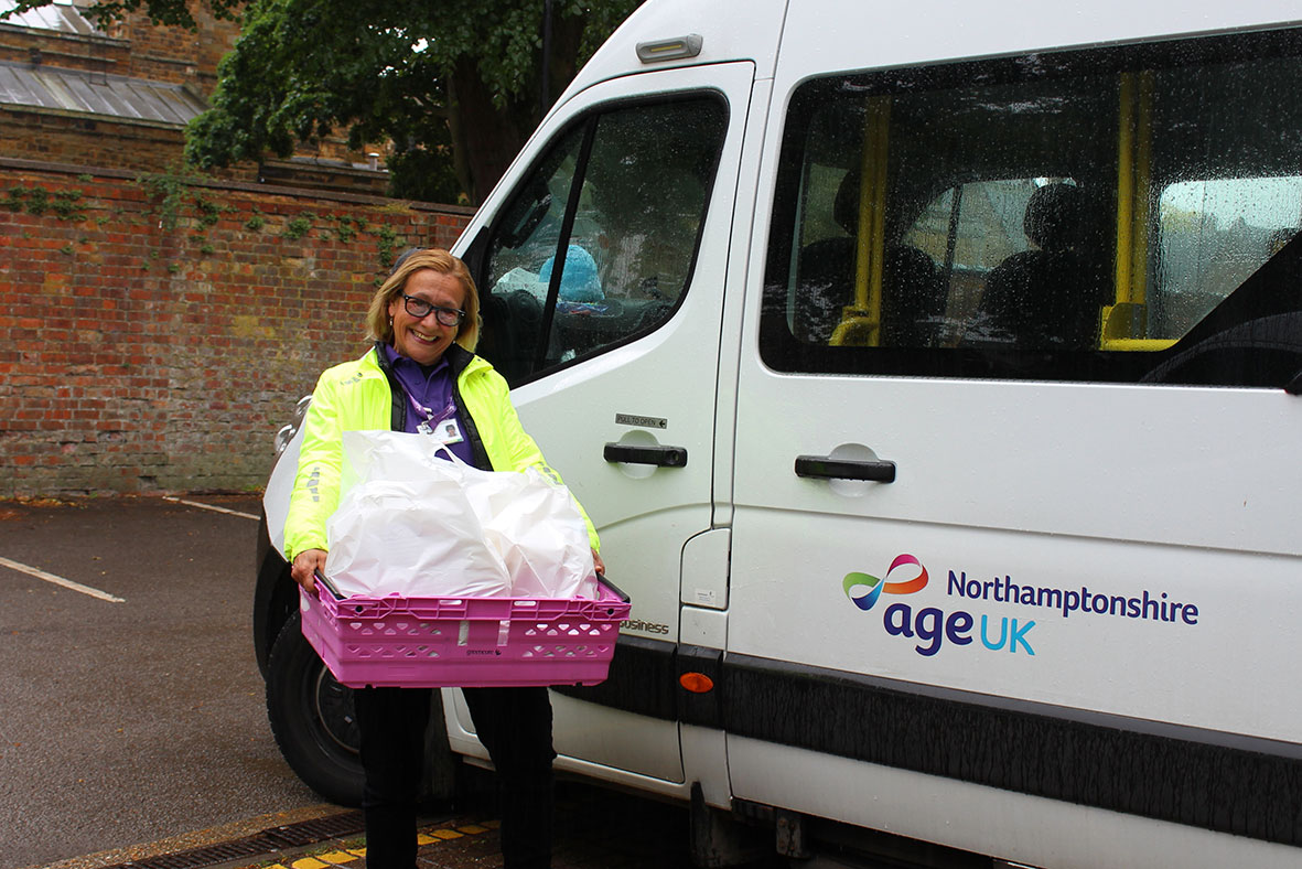 Shopping deliveries from Age UK Northamptonshire