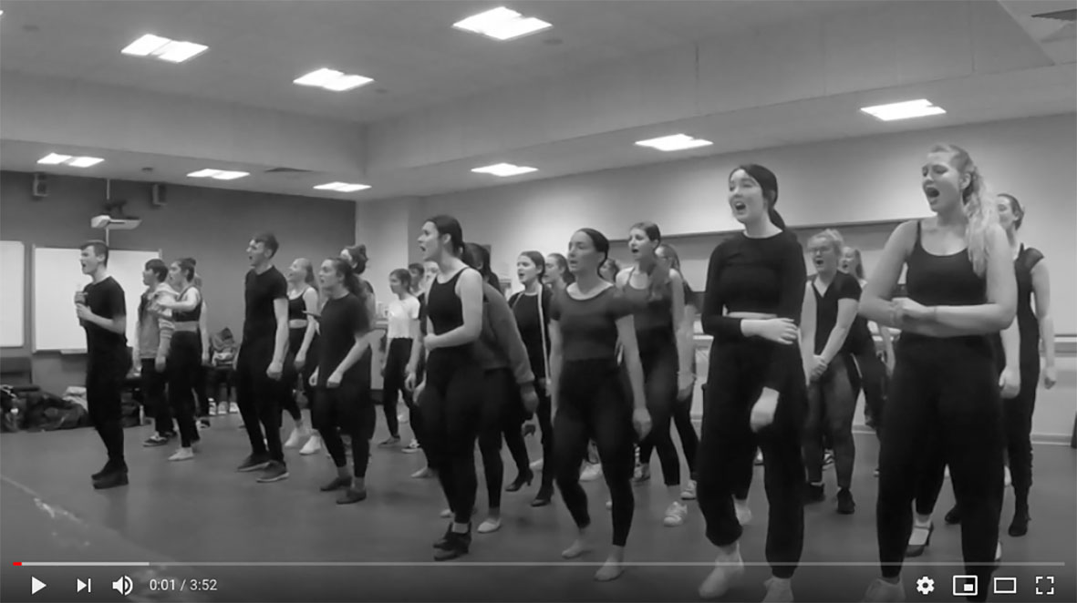 Musical Theatre students - Somewhere Over The Rainbow
