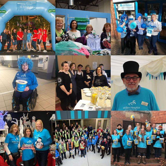 Willen Hospice volunteers
