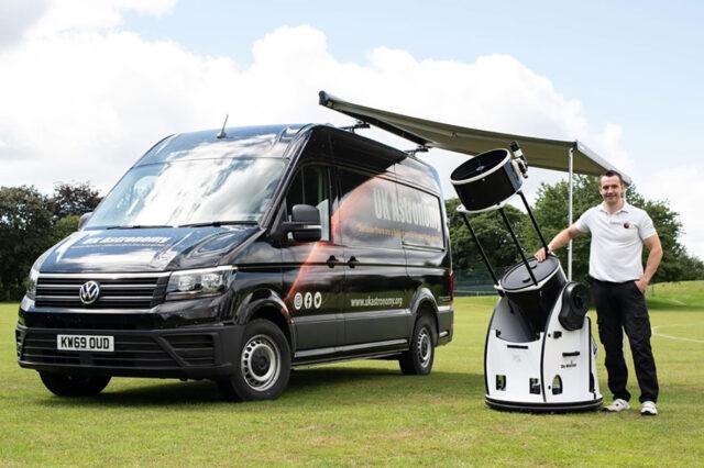 The new stargazing van