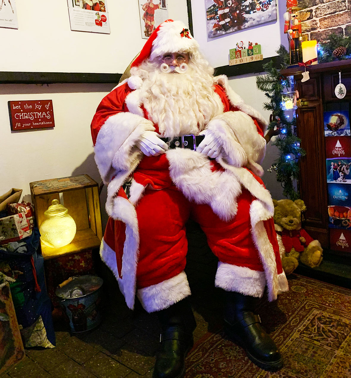 Father Christmas at Milton Keynes Museum