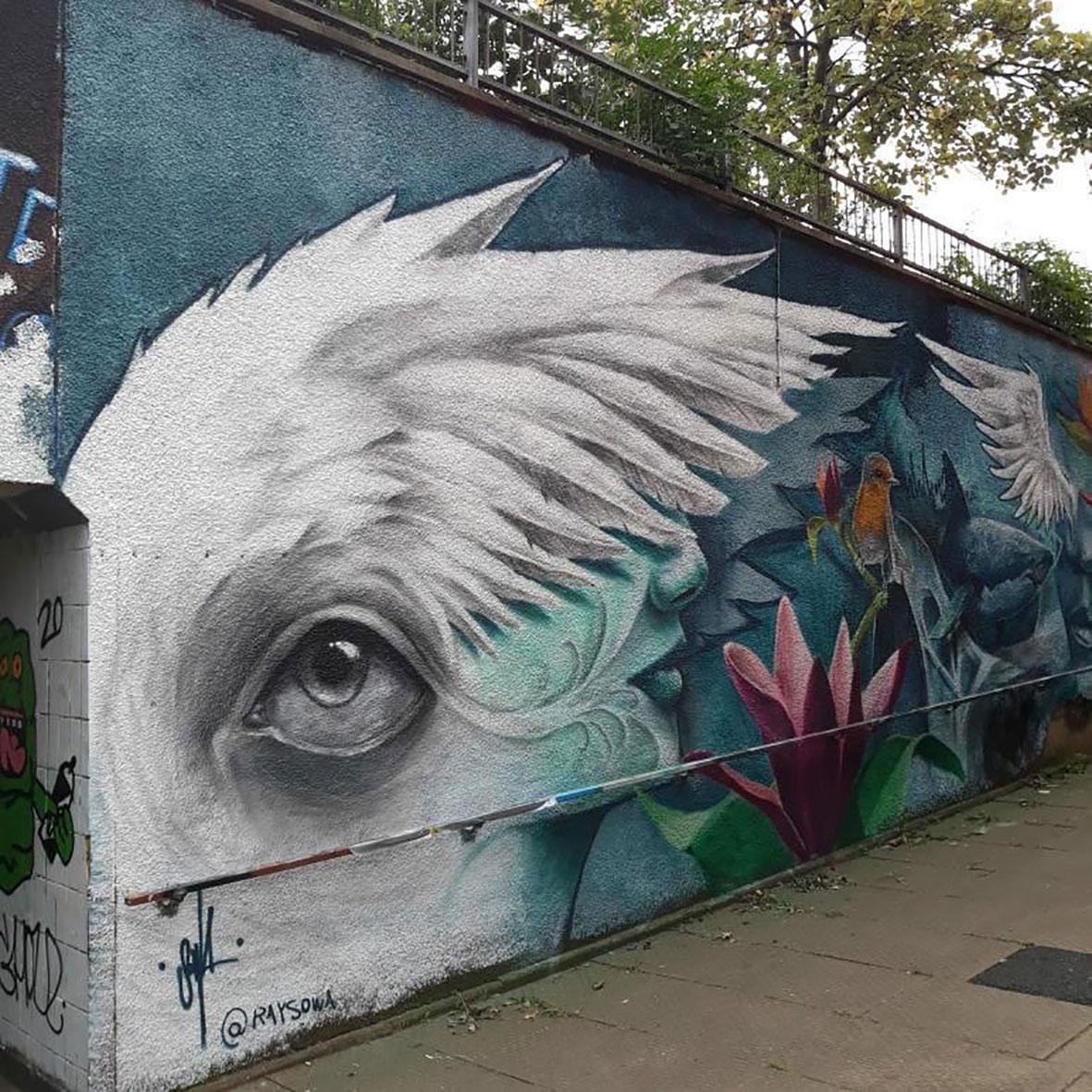 Street art in Northampton