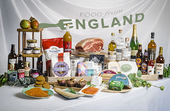 Produce from all over England