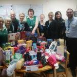 NGH Christmas donations team
