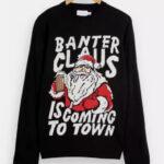 Topman-Christmas-Banter-Claus-Knitted-Jumper-GBP-24.99