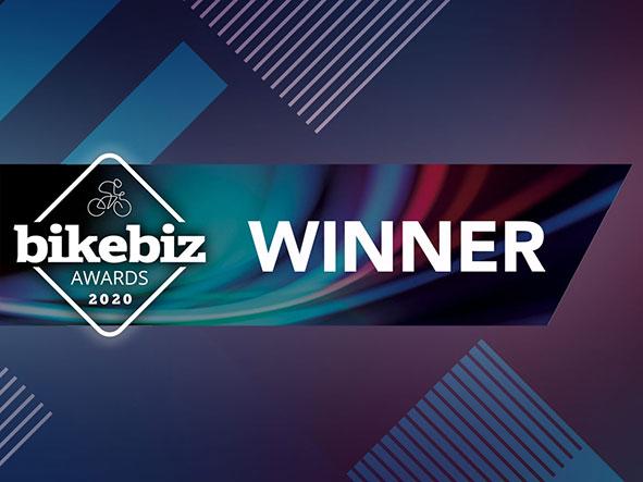 bikebiz Awards winner