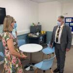 Meeting-hospital-chaplain-Sarah-Crane-on-a-visit-to-MKUH