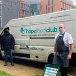 University-of-Northampton-chef-Roland-Playford-with-a-volunteer