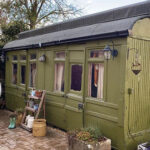 One-of-the-old-carriages-survives-in-the-garden-of-Elisabeth-Brown